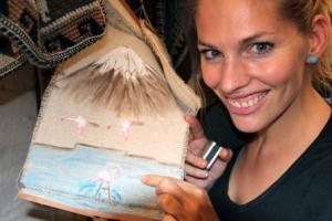 Eine große Entdeckung von Frau Schlaumeier: Flamingos in der Atacama-Wüste in Chile.