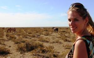 Von einer wilden Schönheit sind die Pferde, denen Martina Hirschmeier in der Pampa begegnet.