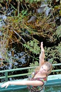 In Manaus entdeckt Martina Hirschmeier ein Wasserkrokodil.
