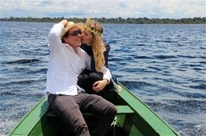 Martina Hirschmeier mit ihrem Mann und Fotografen Dr. Markus Hirschmeier.