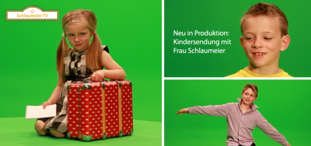 Neue Kinderserie in Produktion