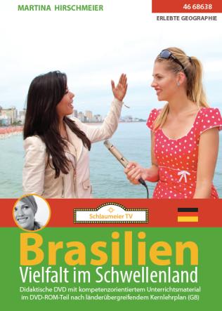 Brasilien: Vielfalt im Schwellenland. Passend zur WM und Olympiade in Brasilien. Doppelmoderiert von Fernanda Bandao und Martina Hirschmeier. Hier geht es direkt zum Film: https://schlaumeiertv.de/filme/brasilien-mit-fernanda-brandao/ und hier zum ebook: https://itunes.apple.com/de/book/brasilien/id879849410?mt=11.